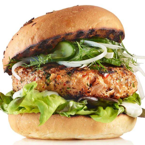 Hamburger di Trota