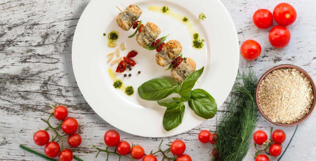 Preparati di pesce di alta qualità